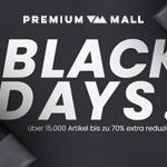 Black Days bei Premium Mall mit bis zu 70% Rabatt auf Taschen & Accessoires