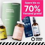 Black Weekend Mega Sale bei Primal State: Bis zu 70% Rabatt und Gratisversand