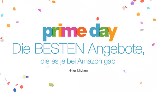 heute ist amazon prime day tausende angebote f r amazon. Black Bedroom Furniture Sets. Home Design Ideas