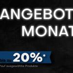 Jetzt bis zu 20% Rabatt auf ausgewählte Produkte im Shop von Profichemie.com