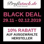 Black Deal auf profistuck.de – Erhalte 10% Rabatt auf ausgewählte Hersteller