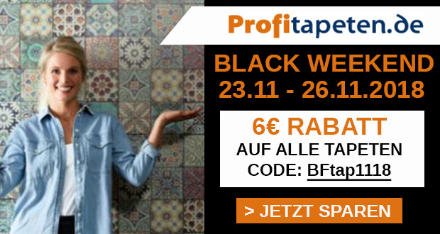 Profitapeten.de Black Friday 2018