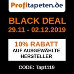 Sicher dir jetzt 10% Preisnachlass auf ausgewählte Tapeten im Store von profitapeten.de