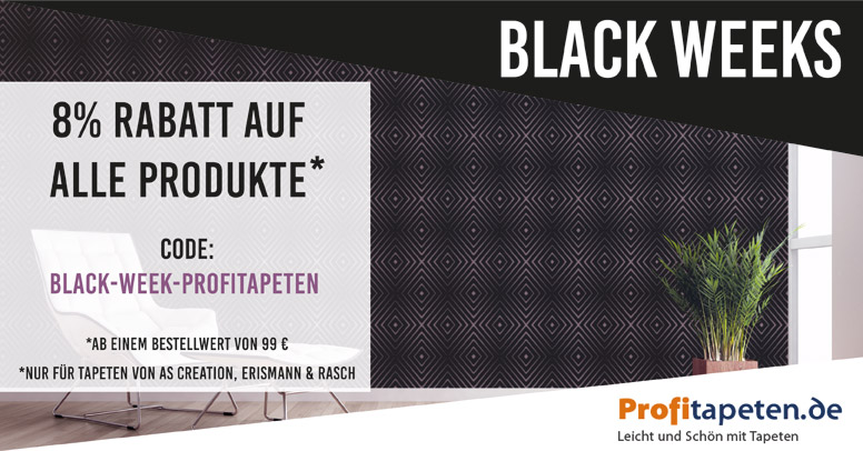 Profitapeten.de Black Friday 2020
