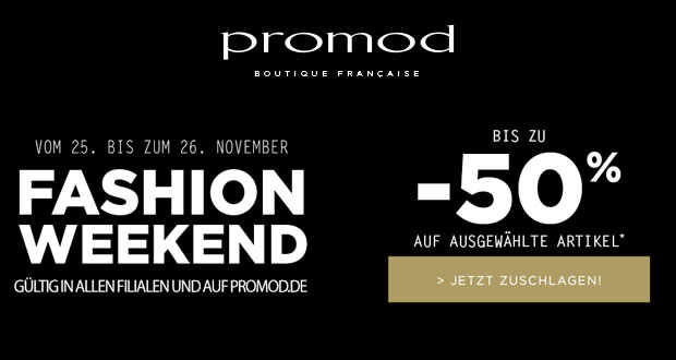 Promod Fashion Weekend 2017