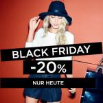 Nur heute: 20% Rabatt auf die gesamte Damen- und Herrenkollektion bei promod!