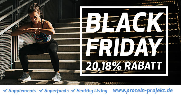 Protein Projekt Black Friday 2018