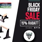 15% Rabatt auf alles zum Black Friday bei Pullup & Dip