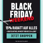 Black Friday Weekend bei Pullup & Dip mit 15% Rabatt auf Alles + gratis Artikel*