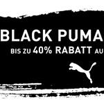 Black Puma Deals – Bis zu 40% Rabatt auf fast alles!