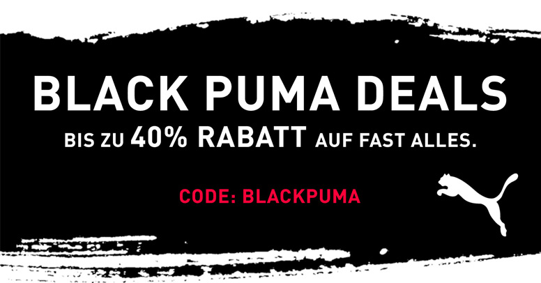 Puma Black Friday 2019