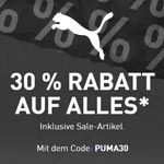 Crazy Friday Deals bei Puma: Jetzt 30% Rabatt auf alles