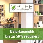 Black Friday bei Pure Schönheit – bis zu 50% auf ausgewählte Naturkosmetik Produkte