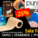 Erste Hilfe Rabatt 25 – der geniale PureOne Sale-Friday Deal.