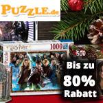 Nutze jetzt die Puzzle Angebote zum Black Friday mit bis zu 80% Rabatt auf puzzle.de