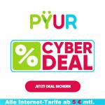 CYBERDEAL bei PŸUR – Alle Internet-Tarife ab 5 EURO monatlich