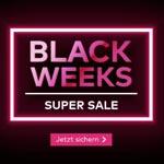 Jetzt sparen mit dem Black Weeks Super Sale bei Quelle