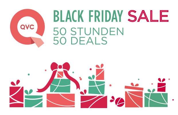 50 top deals zum black friday bei qvc black. Black Bedroom Furniture Sets. Home Design Ideas