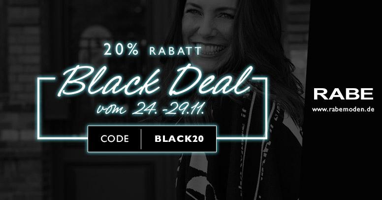 Rabe Moden Black Friday 2020