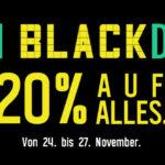 FRI BLACKDAY bei radbag – Ein ganzes Wochenende 20 Prozent Rabatt auf alles!