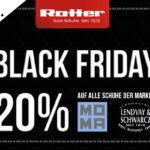 20% auf die ganze Kollektion von MOMA und LENDVAY & SCHWARCZ beim Schuhaus Ratter!