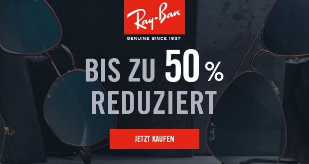 bis zu 50 rabatt auf ausgew hlte brillen im online shop der kultmarke ray ban black. Black Bedroom Furniture Sets. Home Design Ideas