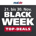 Über 400 Black Week Angebote mit tollen Rabatten bei real.