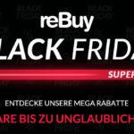 Black Friday Super Sale bei reBuy, spare bis zu 55%
