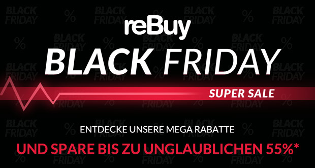 reBuy Black Friday Super Sale 2017