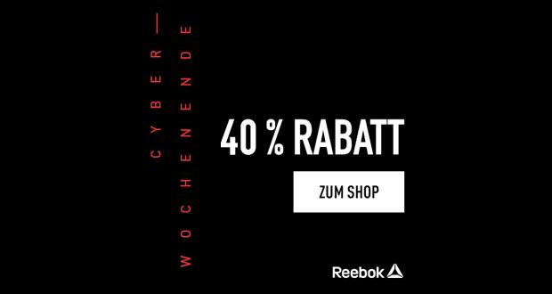 Reebok Black Friday 2018