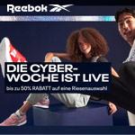 Cyber Woche bei Reebok mit bis zu 50% Rabatt auf Sneaker & Co.