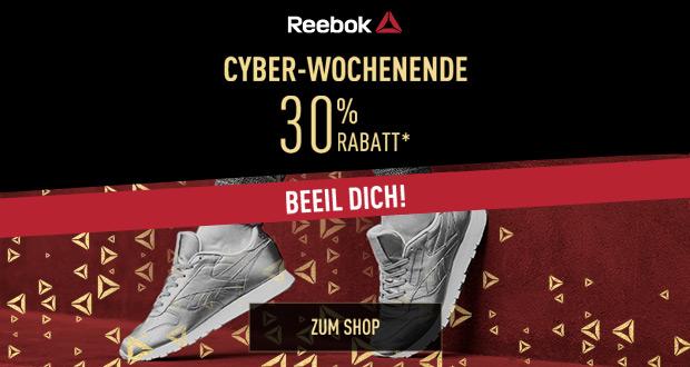 Reebok Cyber Wochenende 2017