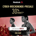 Exklusiver Presale bei Reebok – Sicher dir 30% Rabatt auf ausgewählte Artikel im Online-Store!