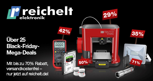 reichelt elektronik Black Friday 2017