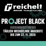 Project Black: Täglich neue Angebote und kostenlose Lieferung bei reichelt elektronik