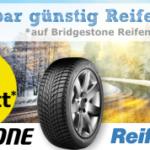 Sicher dir jetzt 6% Rabatt beim Kauf eines neuen Bridgestone Reifens bei ReifenDirekt.de!