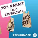 20% Rabatt auf das komplettes Sortiment von Reishunger.de