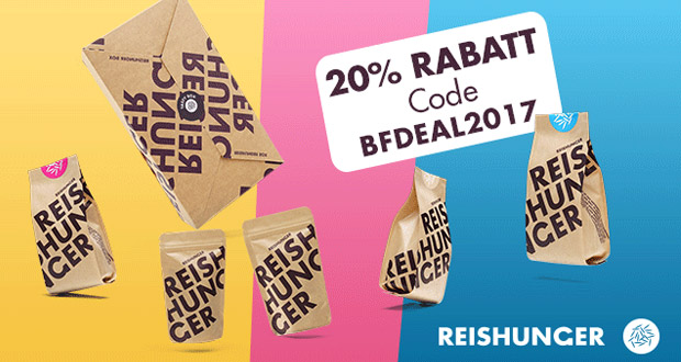 Reishunger Black Friday 2017