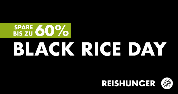 Reishunger Black Friday 2018