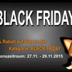 Sparfüchse aufgepasst – 20% Rabatt auf alles in der Kategorie Black-Friday von Resteseller24!