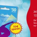 Thumbnail image for iTunes-Karten: 50 Euro für 40 Euro bei REWE