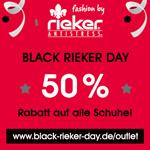 50% Rabatt auf alle Schuhe im Rieker-Outlet – Super Sale nur am 24.11.2017!