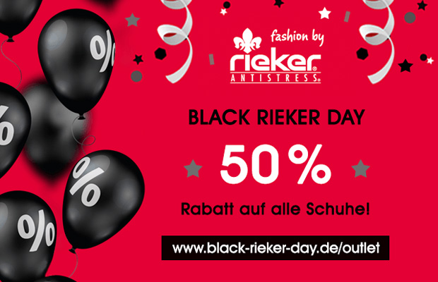 Rieker Outlet Black Rieker Day 2017