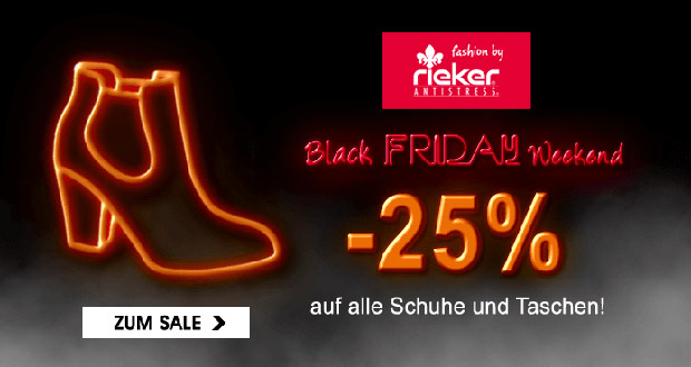 Rieker Shop Black Friday 2018