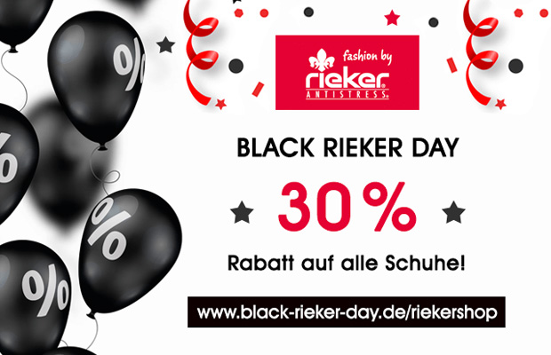 Rieker Shop Black Rieker Day 2017