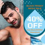 Black-Friday Mega Sale: Spare über 40 EURO beim Kauf des riva Duschfilter STANDARD