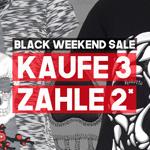Black Weekend Sale bei Roberto Geissini: Kaufe 3 zahle 2 * Satte Rabatte bis Montagnacht