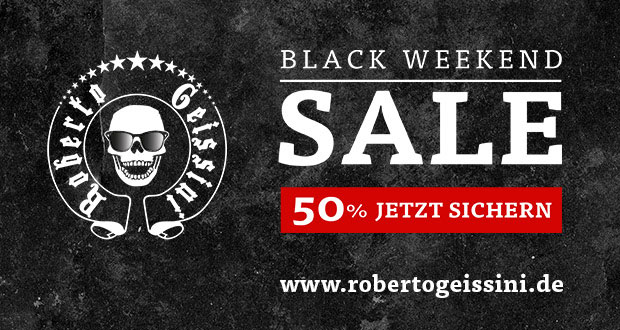 Roberto Geissini Black Weekend Sale 2017