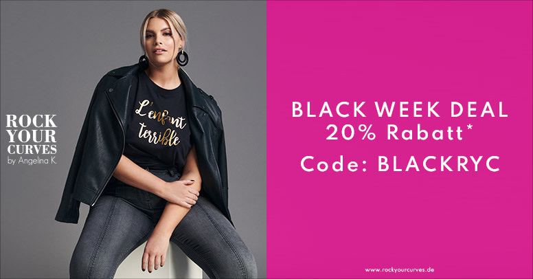 Rock your Curves Black Friday 2020