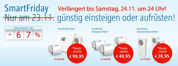 RWE SmartFriday verlängert: Angebote noch bis Samstag 24 Uhr erhältlich